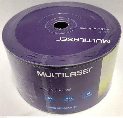 MIDIA CD-R  52X 700MB 80MIN