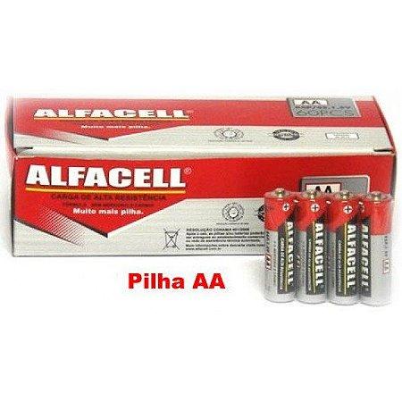 PILHA ALFACELL AA CX COM 60 UN