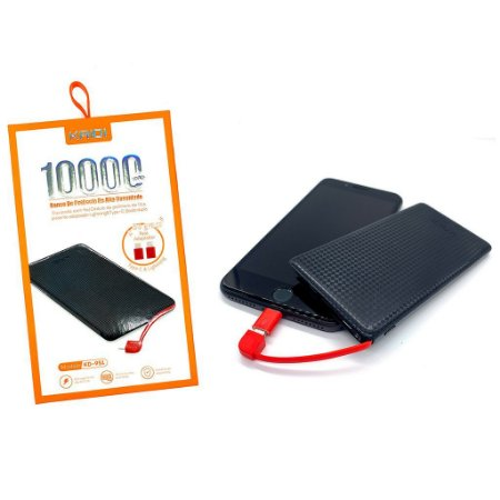 POWER BANK PINENG (KAIDI) DUAS ENTRADAS USB10000/1000MAH