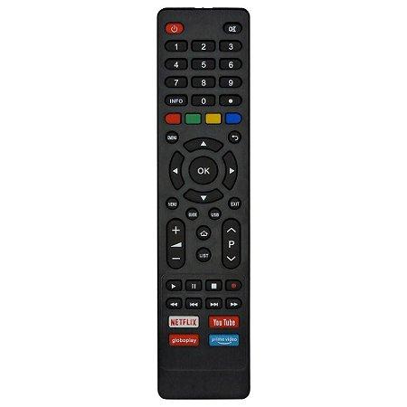 CONTROLE PARA TV LCD PHILCO SMART NETFLIX E YOUTUBE