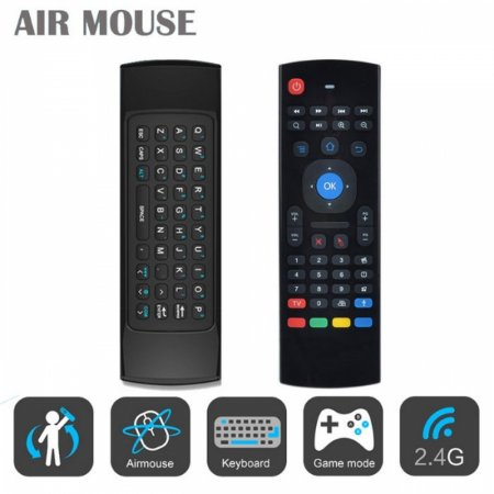AIR MOUSE COM TECLADO QWERTY