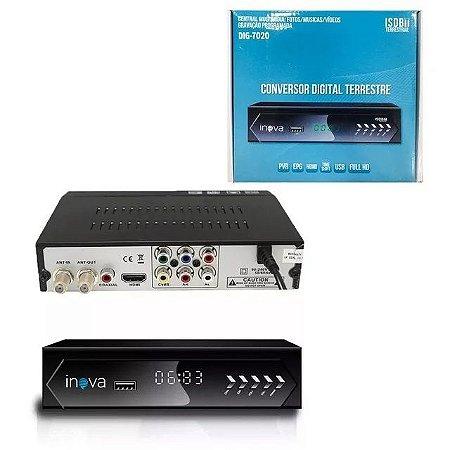 CONVERSOR DIGITAL INOVA COM USB