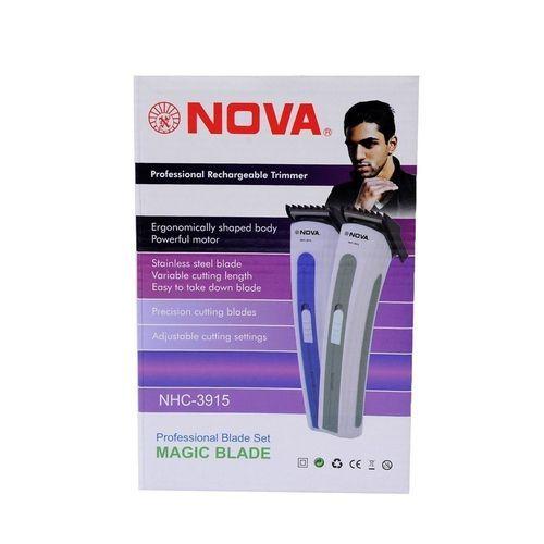 Máquina De Cortar Cabelos E Barba Nova NHC-3915 Bivolt