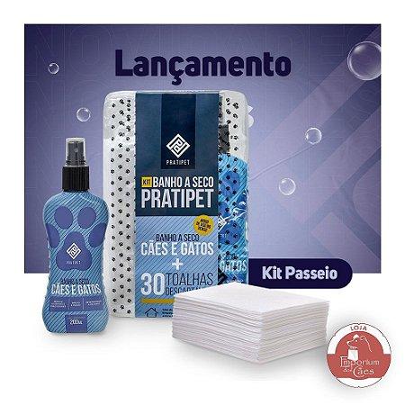 Kit Passeio - Banho a Seco PRATIPET