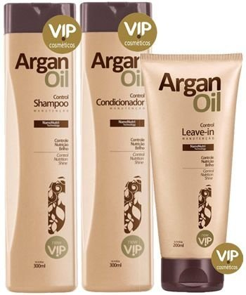 Vip Argan Oil Kit Manutenção Progressiva New Vip