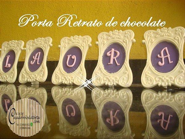 PORTA RETRATO DE CHOCOLATE
