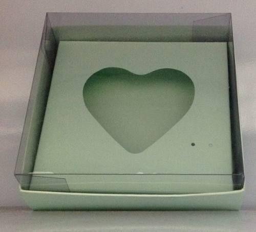 Caixa de Coração Para Ovo de Colher 150 / 250 g  com 10 unidades