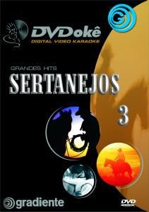 DVDokê Gradiente - Sertanejos 3