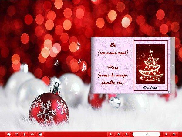 E-Card Natal - Mod 08