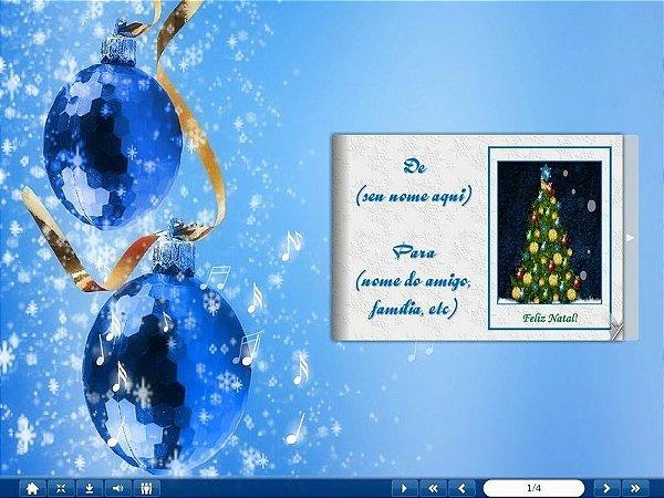 E-Card Natal - Mod 09