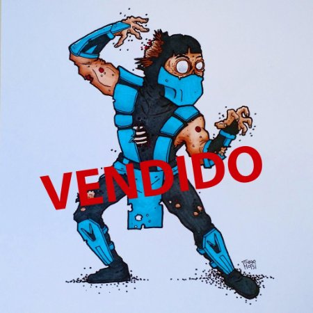 Arte Original - Sub Zero