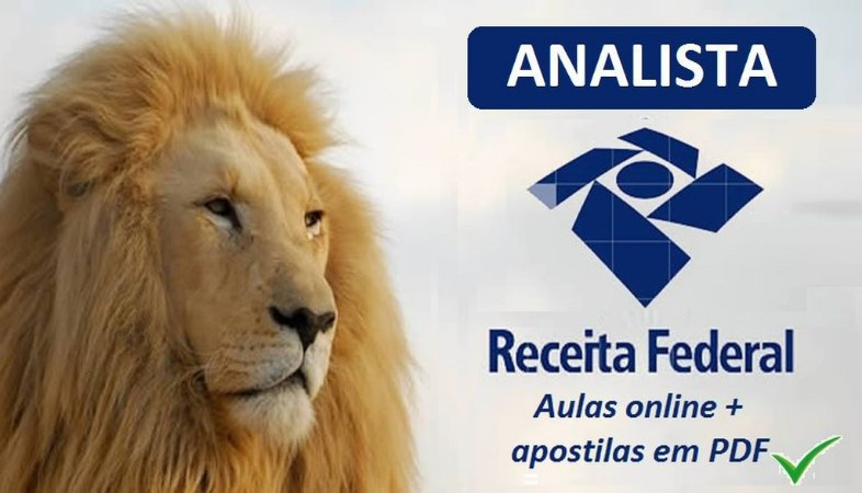 Videoaulas RECEITA FEDERAL 2018 - Analista-Tributário da Receita Federal do Brasil (nível superior, R$ 9,7 mil) Cód.: AT-28760