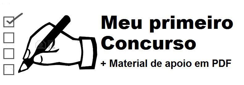 Videoaulas MEU PRIMEIRO CONCURSO - 304 videoaulas com as 15 disciplinas mais cobradas em 90% dos concursos