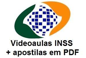 Videoaulas INSS 2016 - Técnico do Seguro Social (nível médio, R$ 4.886,87) - Cód.: INSS-T-25583