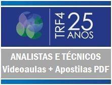 Videoaulas Intensivão TRF-4ª REGIÃO 2014  (PR - SC - RS) - ANALISTAS E TÉCNICOS (até R$ 8.178,06) - Cód.: TRF4