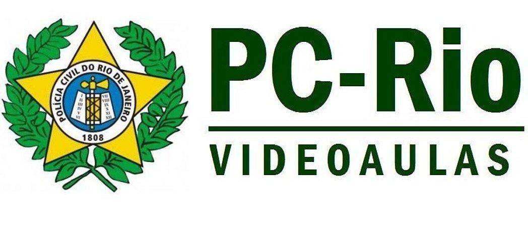 Videoaulas POLÍCIA CIVIL RJ 2014 - Nível Superior - 100 vagas de Papiloscopista (R$ 4.830,00) - Cód.: PC-P-RJ-20317