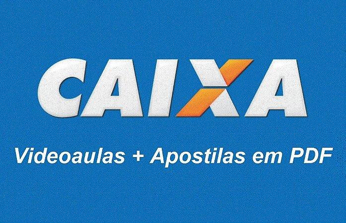 Videoaulas CAIXA ECONÔMICA FEDERAL 2016 - Técnico Bancário (nível médio) Cód: 25727