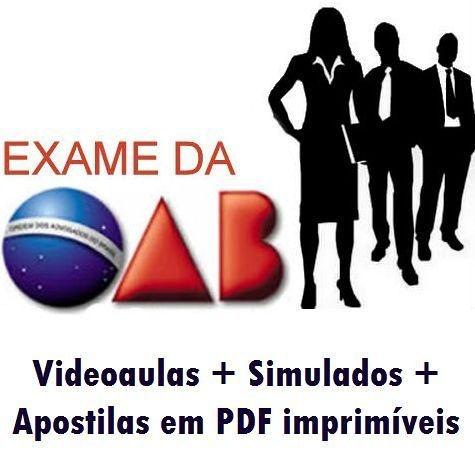 Videoaulas OAB - XVI Exame de Ordem Unificado - Novo Curso: 1ª fase + 2ª fase grátis (Bacharel em Direito) - Cód: OAB-19995