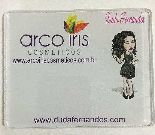 Placa Maquiador Duda Fernandes
