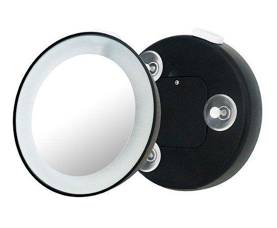 Espelho de Aumento 15x com led KLASS VOUGH REF: BM-1401BL