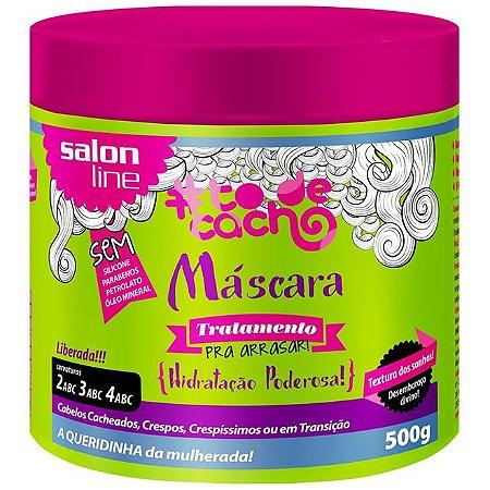 PROMOÇÃO - Máscara #todecacho Tratamento pra Arrasar Liberada Salon Line 500g