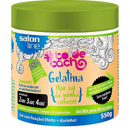 Gelatina #Todecacho – Não Sai Da Minha Cabeça - 550g   Salon Line