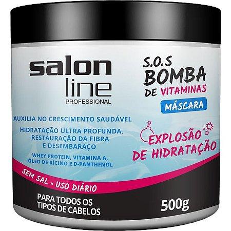 PROMOÇÃO - Máscara S.O.S bomba de Vitaminas 500 g Salon Line