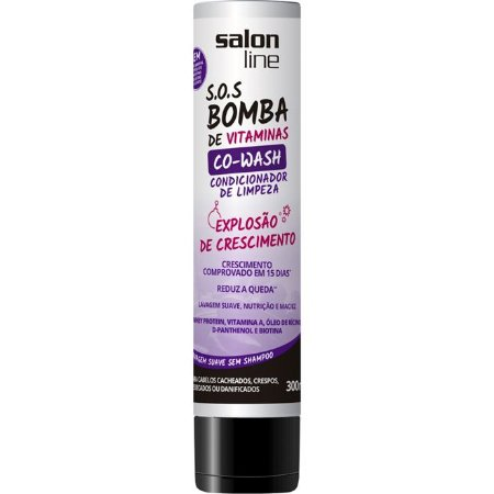 Condicionador S.O.S Bomba de Vitamimanas Co-Wash 300ml
