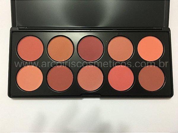 Paleta de Blush 10 Cores Luisance L781