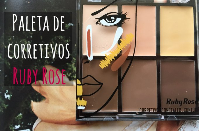 Paleta de corretivos Ruby Rose - Light