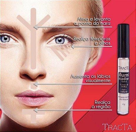 PROMOÇÃO - Iluminador Líquido Facial - Tracta Rosa