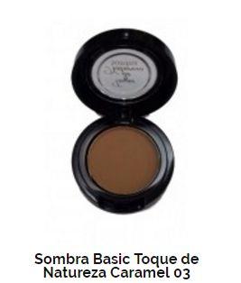 SOMBRA BASIC TOQUE DE NATUREZA REF 03 - CARAMEL