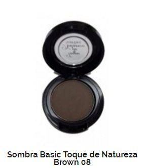 SOMBRA BASIC TOQUE DE NATUREZA REF 08 - COLD BROWN