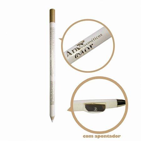 Lápis para Olhos com Apontador Any Color 1301 - Branco