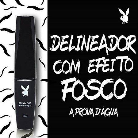 DELINEADOR COM ACABAMENTO FOSCO E A PROVA D´AGUA - PLAYBOY PB - 1019