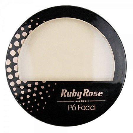 Pó Facial HB 7212 Cor 01 Ruby Rose