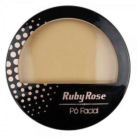 Pó Facial HB 7212 Cor 04 Ruby Rose