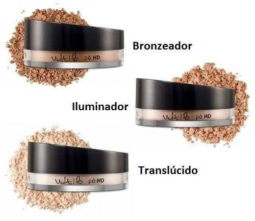 Pó Facial HD  Vult  Bronzeador / Iluminador / Translúcido