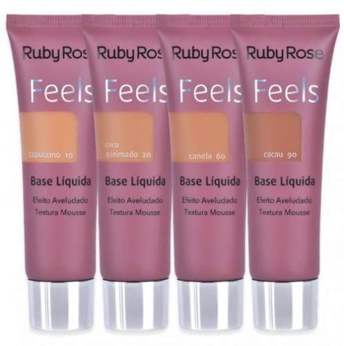 Base Liquida Feels Grupo 3 - Ruby Rose - HB8053- PROMOÇÃO