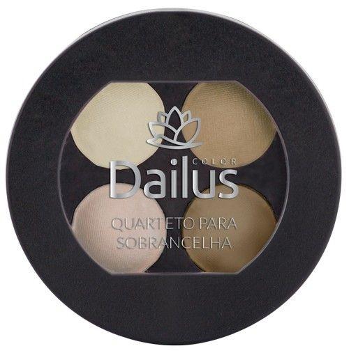 Quarteto para sobrancelha Dailus