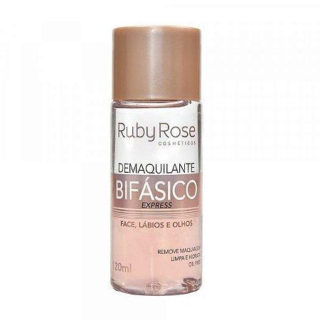 Demaquilante Bifásico Ruby Rose 120ml Hb-302- PROMOÇÃO