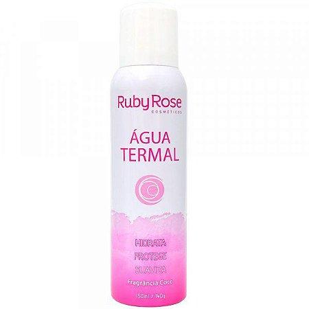 Água Termal - Hidrata / Protege / Suaviza / Fragancia  Coco - Ruby Rose