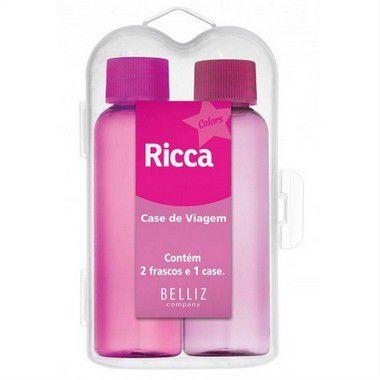 Kit Case De Viagem 3320 Ricca C/2 -PROMOÇÃO