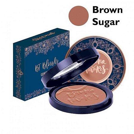 Blush E Contorno Cor Brown Sugar - Bruna Tavares
