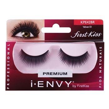Cílios Postiços Kiss New York Velvet 01 KPE42BR