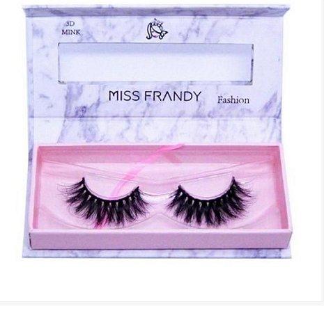Cilios Postiços 6D Mink (0409) - Miss Frandy