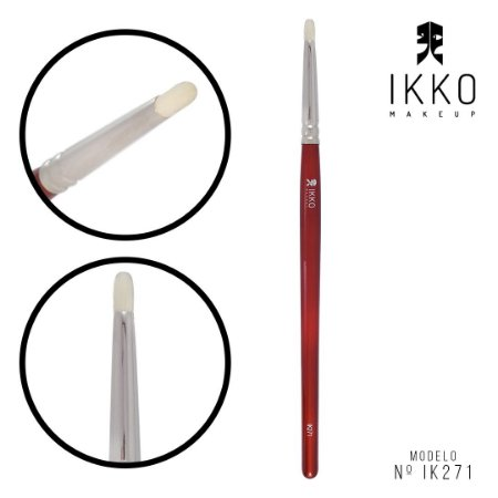 Pincel 81271 (IK271) - IKKO Makeup - Linha Vermelha