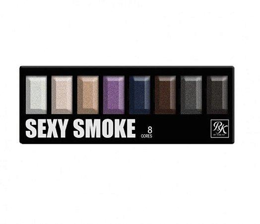 PALETA DE SOMBRAS 8 CORES SEXY SMOKE RK - KISS NEW YORK