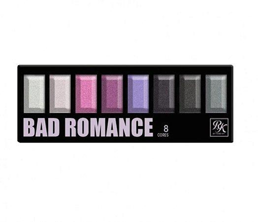 PALETA DE SOMBRAS 8 CORES BAD ROMANCE RK - KISS NEW YORK