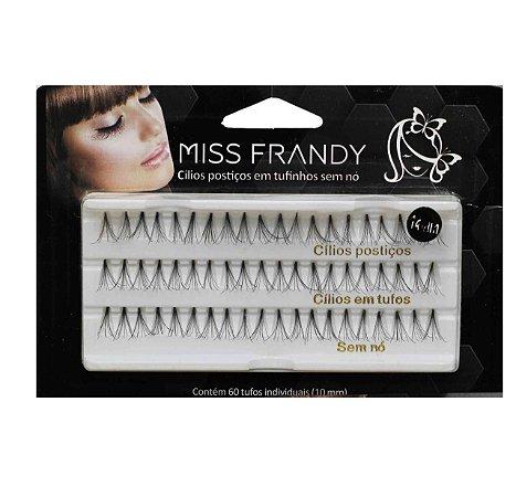 Cilios postiço tufinho 10mm- MISS FRANDY